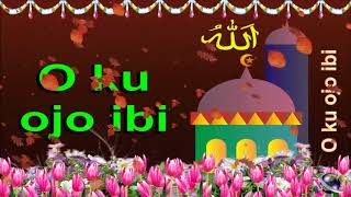 0 329 Yoruba 25 seconds Happy Birthday Greeting Wishes includes Islam Masjid  by  Bandla