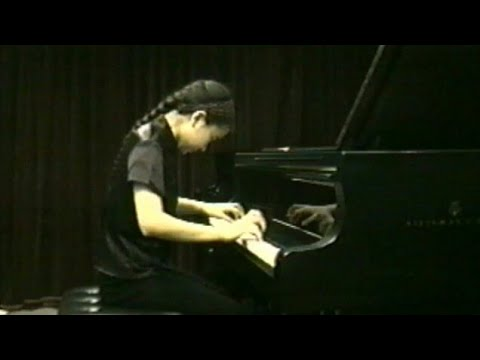 Rebekka (J.Bechstein/JB) J.S. Bach Partita No.2 in C Minor - 15 years old Piano studio live movie