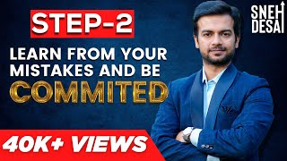 How to be RICH Step 2 | Learn From Your Mistakes & Be Committed