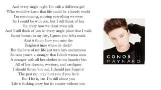 FADED Lyrics Cover by Conor Maynard