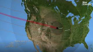 Where to see a total eclipse on 21 August 2017