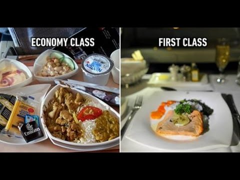 Xxx Mp4 Airplane Food In Economy Vs First Class On 20 Airlines 3gp Sex