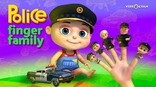 Police Finger Family - Part 2 | Finger Family Songs | Videogyan 3d Rhymes| Nursery Rhymes Kids Songs