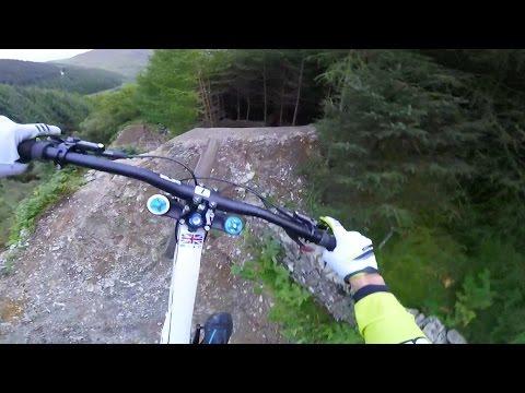 Gee Atherton Tests INSANE MTB Trail: