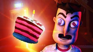 THE CAKE IS A LIE.. or is it THE ANSWER TO EVERYTHING?!!! (Hello Neighbor Gramophone / Beta 3)