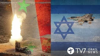 Syria vows to use S-300 missile Systems against Israel - TV7 Israel News 27.09.18