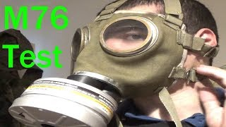 Hungarian M76 Gas Mask Review and Test