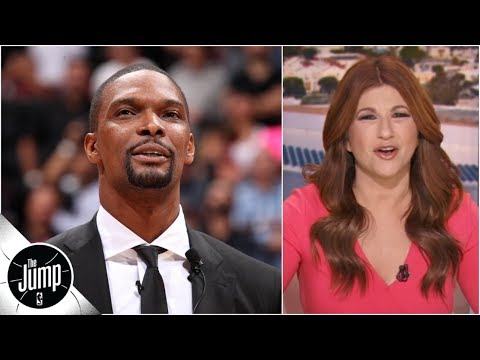 Recapping Chris Bosh s epic Heat jersey retirement speech and unforgettable career The Jump