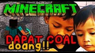 mining dapat coal doank minecraft indonesia eps  1