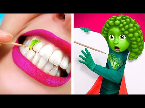 If FOOD were PEOPLE Funny Food Situations by La La Life Emoji