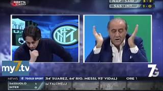 "DirettaStadio 7Gold Sassuolo Inter 1-0 Filippo Tramontana: ""SVEGLIA!!!!"""