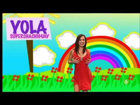 Paula Prendes haciendo de Yola Berrocal 11 0310