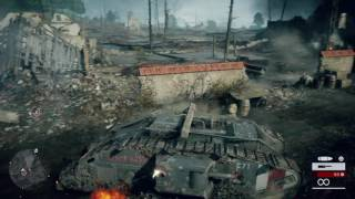Battlefield 1 campaign pt2 - We're In a Tank! Stuff Goes BOOM