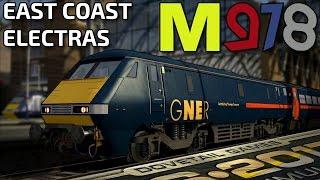 Train Simulator 2017 | East Coast Electras! | BR Class 91 Intercity 225