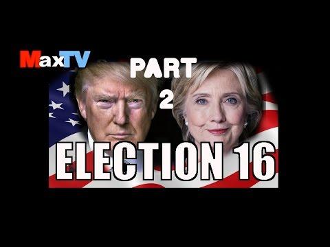 Max Kolonko: (2) Election'16  Clinton vs Trump Wybory w USA w MaxTV