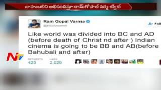 Ram Gopal Varma Sensational Tweets on Baahubali 2 Movie || NTV
