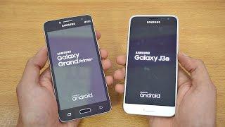 Samsung Galaxy Grand Prime Plus vs Galaxy J3 (2016) - Speed Test! (4K)