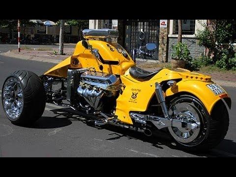 Boss Hoss Trike V8 502ci Hot Rod Style 8228cc The biggest Engine ever