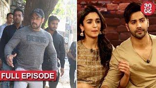 Salman Spotted At A Restaurant In The City | Alia The Reason Behind Varun & Natasha
