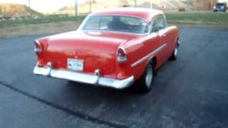 1955 Chevy 454 TH400 burnout