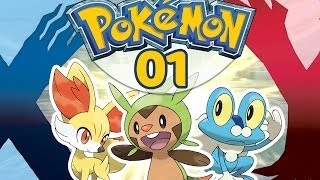 POKEMON Y #01 - Marisson, Grenousse, Feunnec ? - POKEMON X - Let's Play Français