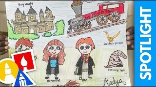 SPOTLIGHT: Draw Your Favorite Book Character (8.9.19)