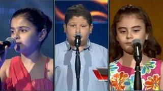 افضل 5 مشاركين في اخلى صوت the voice kids ( اذهلو لجنة التحكيم العربية )
