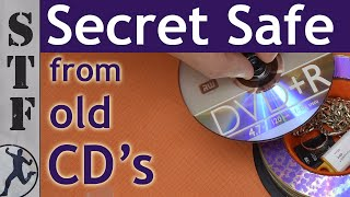 Secret Safe from old CD's | How to hide money