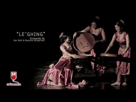 Karya Seni Tari LE'GHING    Uji Koreografi 3 UNY Yogyakarta 2016 FULL VIDEO