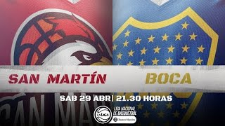 Liga Nacional: San Martín vs. Boca | #LaLigaEnTyC
