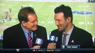 NFL on CBS First on the Field 2017 Raiders at Titans