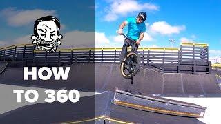 How to 360 a BMX