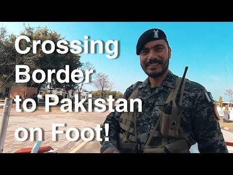 Crossing The Border to Pakistan & Eating Beef Hindi Fails