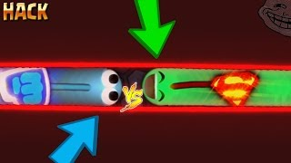 Slither.io BORDER HACK / TRAPPING TRICK / Superman Skin /BEST TROLLING MOMENTS