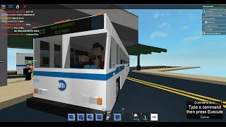 MTA Bus: 82 Street bound 1999 Orion V CNG Q33 [#9859] @ Jackson Heights