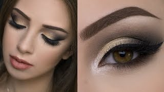 Makeup Tutorial Aaliyahjay || Spotlight Smokey Eye & Dark Glossy Lips Makeup Tutorial