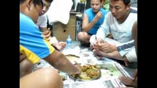 Dinner in a labour camp