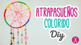 Cómo hacer un Atrapasueños muy Fácil y Colorido | Decora tu habitación | Catwalk ♥