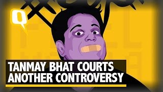 Tanmay Bhat's Snapchat Video on Lata-Sachin Creates an Outrage - The Quint