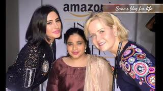 Nargis fakhri Amazon India fashion week SS 18   Boomering   Red Carpet   Ramp Walk   Click Click 