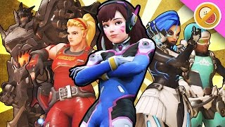 THE ULTIMATE WOMBO COMBO COMP - Overwatch Gameplay (Funny Moments)