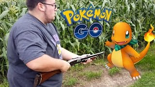 HE PULLED OUT A GUN! Crazy POKEMON GO Player!