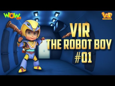 Xxx Mp4 Vir The Robot Boy 1 3D ACTION Compilation For Kids As Seen On Hungama TV 3gp Sex