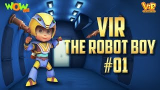 Vir: The Robot Boy # 1 - 3D ACTION compilation for kids - As seen on Hungama TV
