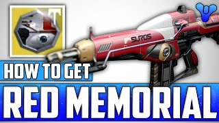 Destiny: How To Get The New Hidden Exotic Red Memorial Suros Regime Ornament - Age Of Triumph