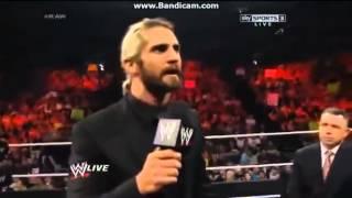 The Shield & John Cena attacks The Wyatt Family & Seth Rollins - Full Segment: Raw, June 9, 2014