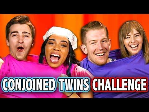 Xxx Mp4 CONJOINED TWINS CHALLENGE Ft React Cast Challenge Chalice 3gp Sex