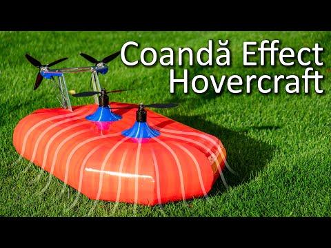 Coanda Effect Hovercraft