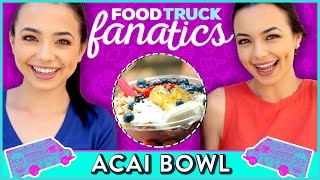 ACAI BOWL CHALLENGE MerrellTwins | Food Truck Fanatics