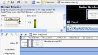 Windows Movie Maker Tutorial: Dubbing using Windows Movie Maker